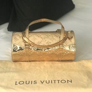 Louis Vuitton gold mirror papillon monogram bag❤️
